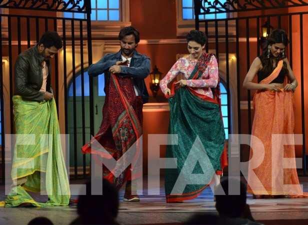 Riteish Deshmukh, Saif Ali Khan, Tamannah Bhatia and Esha Gupta