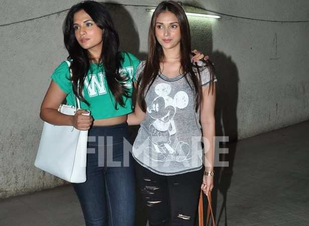 Richa Chadda and Aditi Rao Hydari