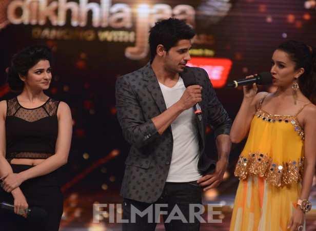 Prachi Desai, Sidharth Malhotra and Shraddha Kapoor