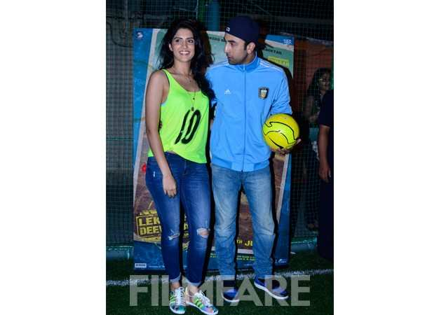 Deeksha Seth and Ranbir Kapoor