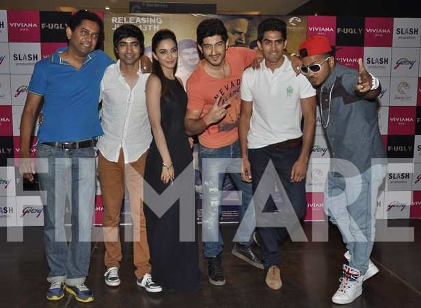Arif Lamba, Kiara Advani, Mohit Marwah and Vijender Singh