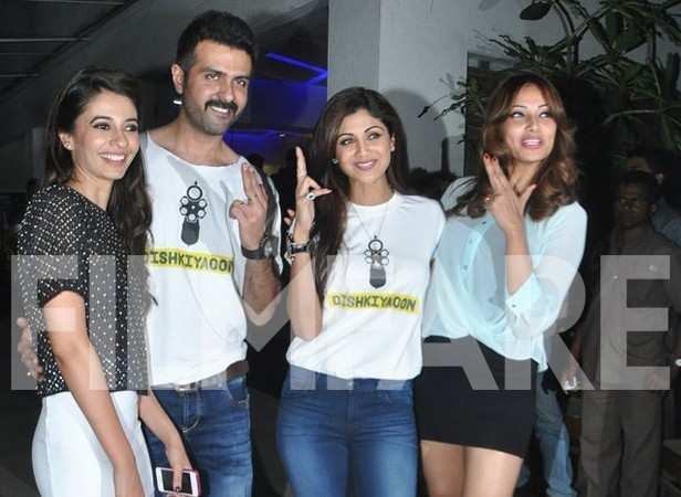 Ayesha Khanna, Harman Baweja, Shilpa Shetty and Bipasha Basu