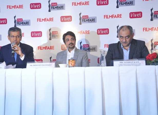 Mr. tarun Rai (CEO, WWM), Prosenjit Chatterjee and Mr. Sandeep Kaul (Chief Executive, Personal Care Products Business, ITC Limited)