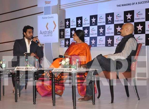 Abhishek Bachchan, Bhawana Somaaya and Vijay Krishna Acharya
