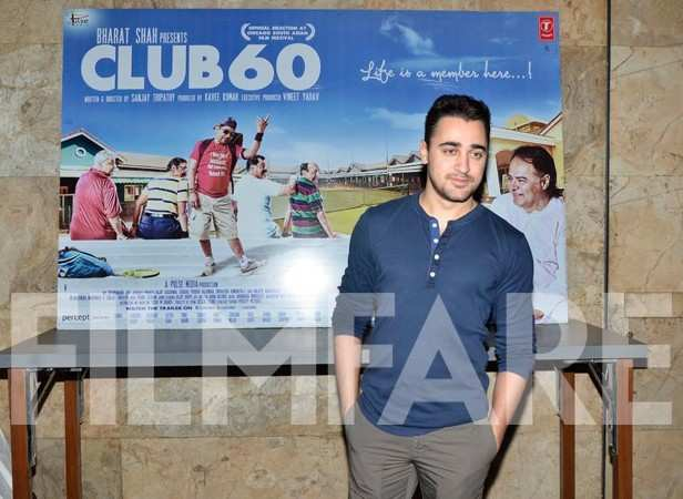 Imran Khan at Club 60 special screening and also a tribute to Farooq Sheikh