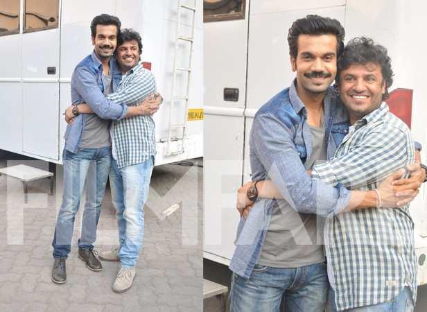 Rajkummar Rao and Vikas Bahl