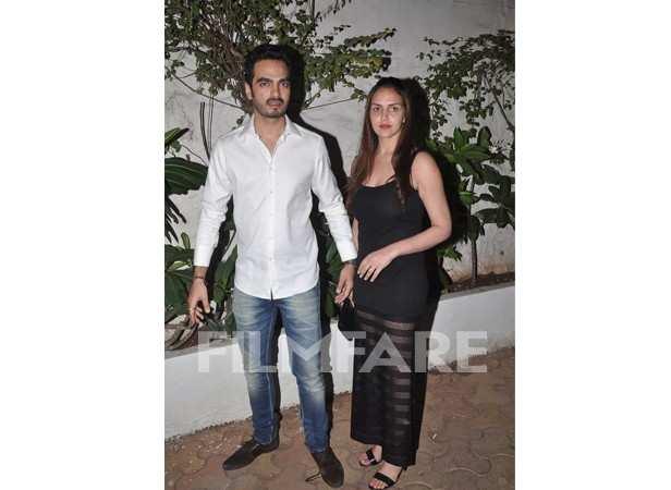 Esha Deol with Bharat Takhtani