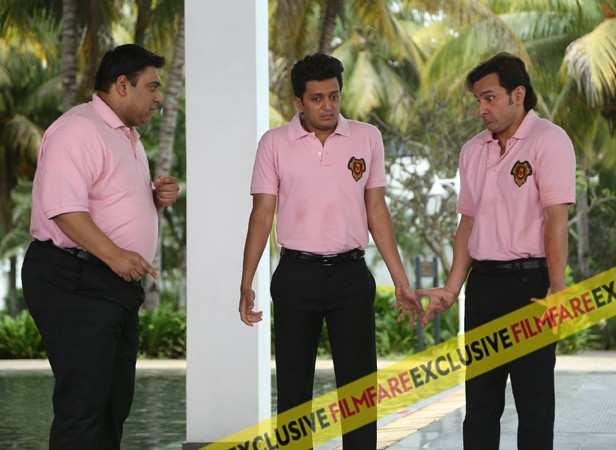 Ram Kapoor, Saif Ali Khan and Riteish Deshmukh