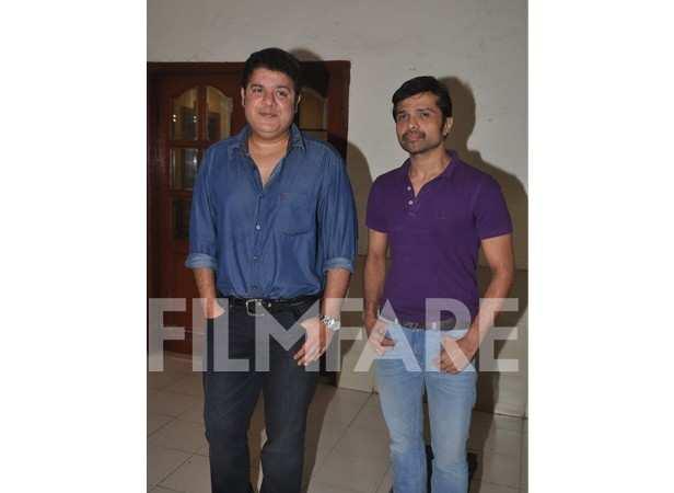 Sajid Khan and Himesh Reshammiya