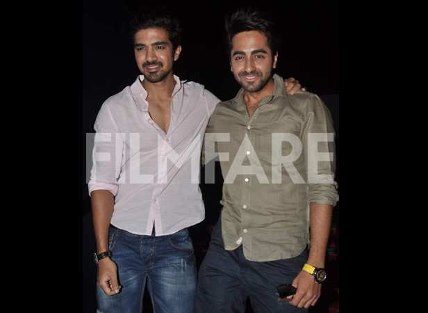 Saqib Saleem and Ayushmann Khurrana