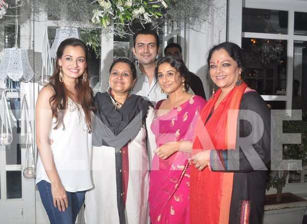 Dia Mirza, Supriya Pathak, Sahil Sangha, Vidya Balan and Zareena Wahab