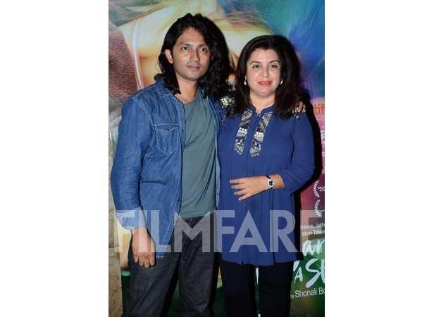 Sirish Kunder and Farah Khan