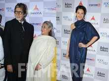 Amitabh and Jaya Bachchan watch Margarita With A Straw