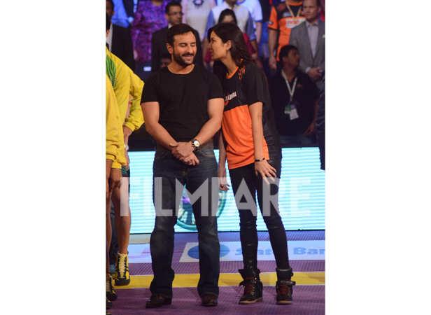 Saif Ali Khan and Katrina Kaif