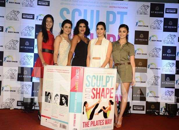 Katrina Kaif, Yasmin Karachiwala, Sophie Chodry and Alia Bhatt