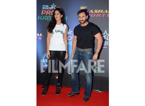 Katrina Kaif and Saif Ali Khan