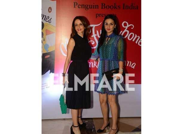 Sussanne Khan and Anu Dewan