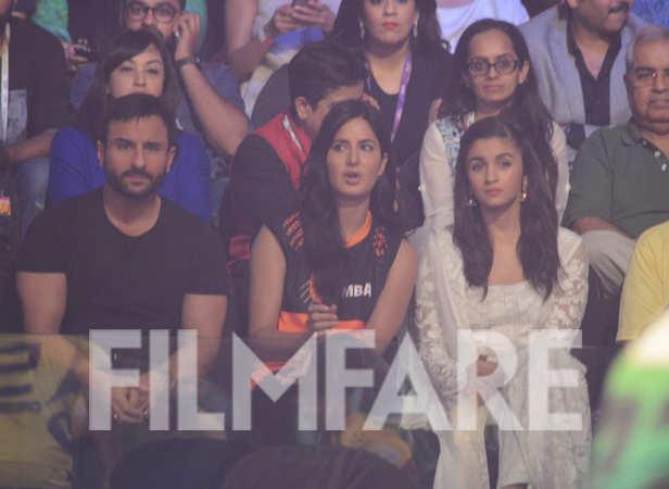 Saif Ali Khan, Katrina Kaif and Alia Bhatt