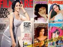 Sridevi's best Filmfare covers