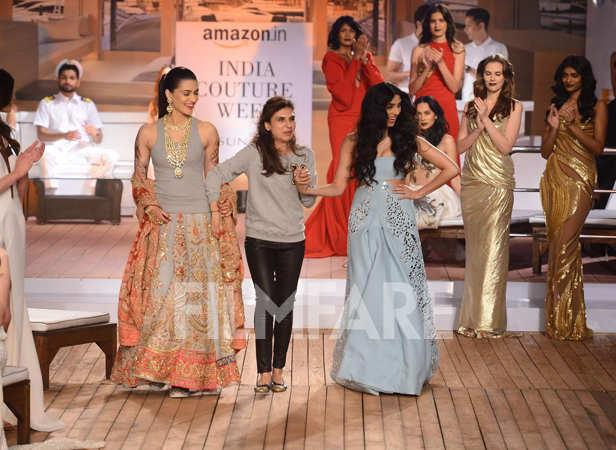 Kriti Sanon, Monisha Jaising and Pernia Qureshi