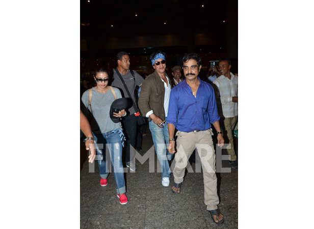 Kajol and Shah Rukh Khan