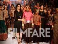 Dia Mirza at Anita Dongre's show at LFW