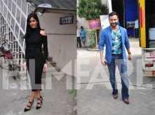 Katrina Kaif and Saif Ali Khan's edgy style