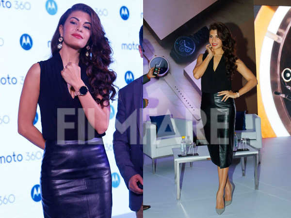 Jacqueline Fernandez's love for watches