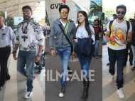Abhishek Bachchan, Riteish and Genelia Deshmukh and Ayushmann Khurrana's airport stint