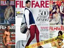 Birthday special: John Abraham's best Filmfare covers