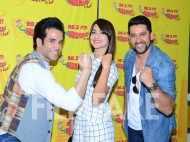 Aftab Shivdasani, Tusshar Kapoor and Gauahar Khan get radio active