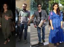 Vidya Balan, Ranvir Shorey, Vivek Oberoi and Shriya Saran clicked