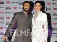 Ranveer Singh and Deepika Padukone kickstart the Britannia Filmfare Awards