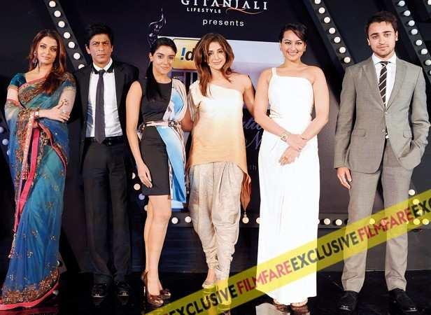Aishwarya Rai Bachchan, Shah Ruk Khan, Asin, Urmilla Matondkar, Sonakshi Sinha and Imran Khan