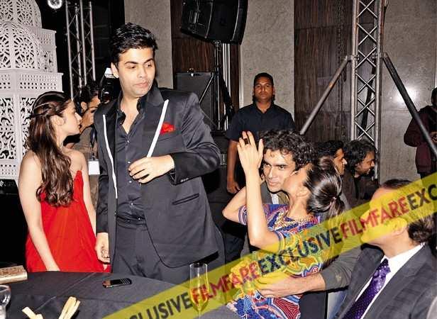 Alia Bhatt, Karan Johar, Imtiaz Ali and Deepika Padukone