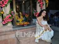 Kangana Ranaut spotted in a desi avatar