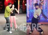 Shraddha, Varun rehearse for the 60th Britannia Filmfare Awards