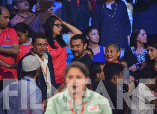 Aamir Khan and Jaya Bachchan