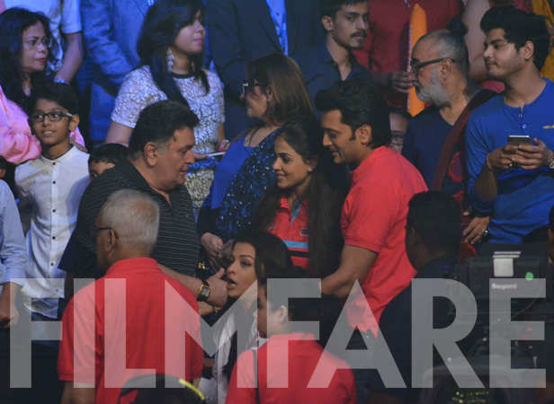 Rishi Kapoor, Aishwarya Rai Bachchan, Genelia and Riteish Deshmukh