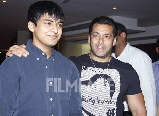 Satya Manjrekar and Salman Khan