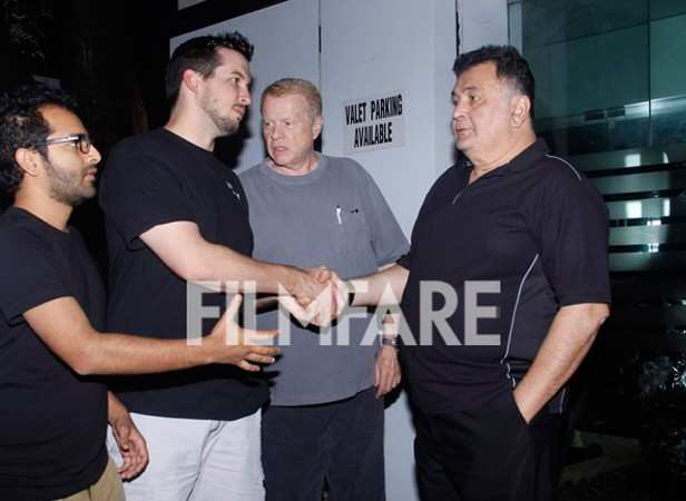 Shakun Batra and Rishi Kapoor