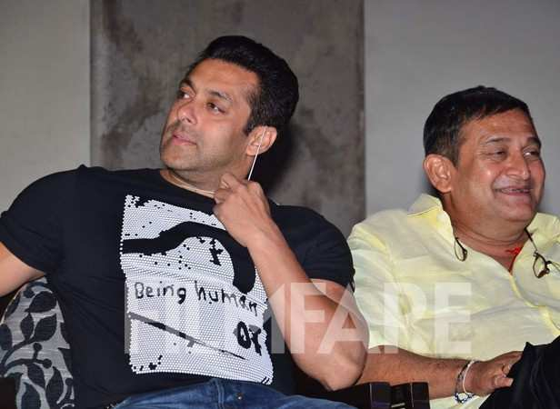 Salman Khan and Mahesh Manjrekar