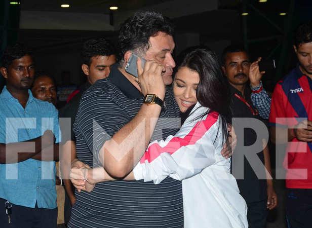 Rishi Kapoor and Aishwarya Rai Bachchan