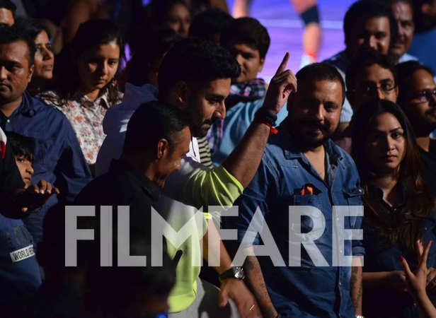 Rahul Bose and Abhishek Bachchan