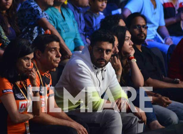 Ronnie Screwvala and Abhishek Bachchan