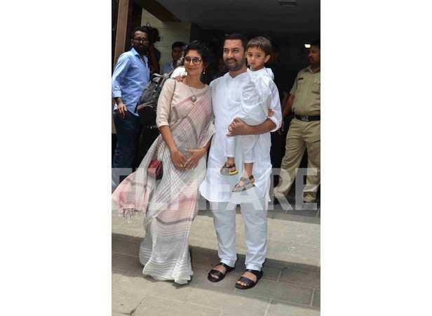 Kiran Rao, Aamir Khan and Azad Rao Khan