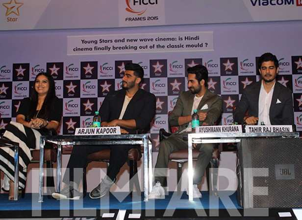 Bhumi Pednekar, Arjun Kapoor, Ayushmann Khurrana and Tahir Raj Bhasin