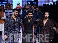 Arjun and Shahid scorch the ramp