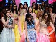 Ileana dances to Kanika's tunes at LFW