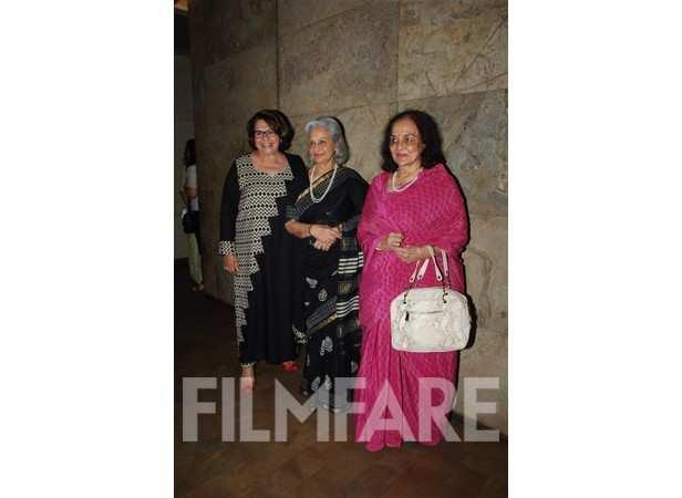 Helen, Waheeda Rehman and Asha Parekh